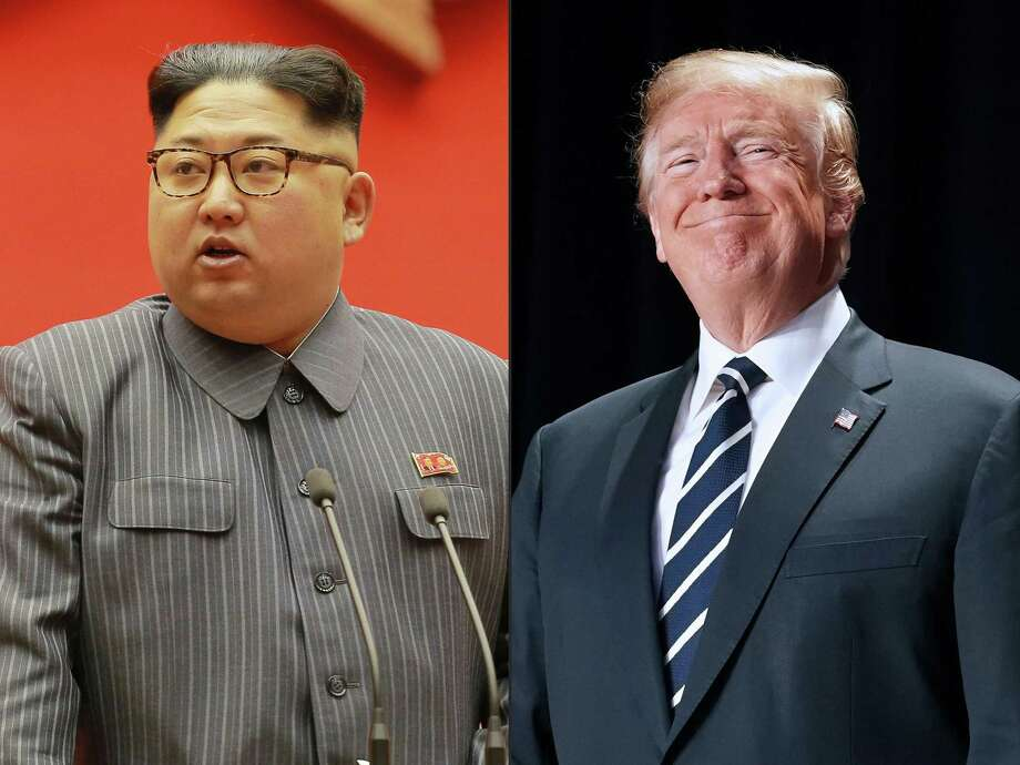 There are high stakes involved in upcoming talks between North Korea's Kim Jong Un and President Donald Trump, but hopes of a Nobel Peace Prize for Trump should be stoked only by real accomplishments in the talks. Photo: STR /AFP /Getty Images / AFP or licensors