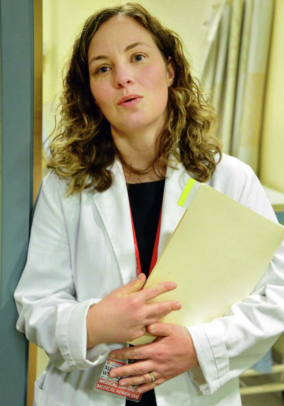 Dr. Melissa Weimer in the new ambulatory detox program at St. Peters Hospital Thursday Feb. 1, 2018 in Albany, NY. (John Carl D'Annibale/Times Union)