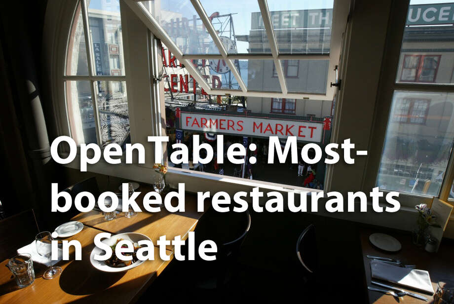 OpenTable has the data for the most in-demand Seattle restaurants on the web service that allows diners to reserve a table with a tap or a click.