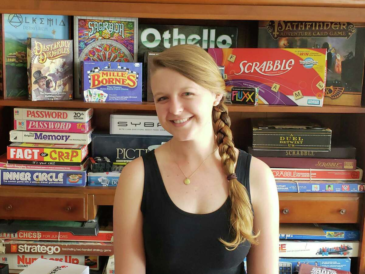 Charlotte Guyton, owner of Bard & Baker Board Game Cafe