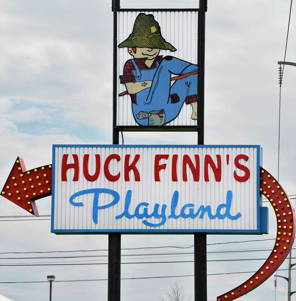Looking for pops of color or a retro feel? Go to Huck Finn's Playland in Albany.