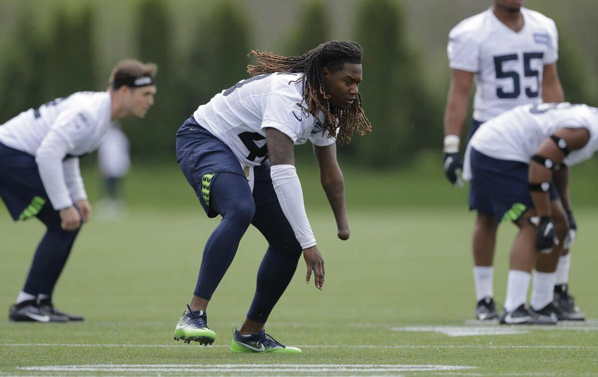 HOW HE FITS WITH THE SEAHAWKS: Griffin is the likely backup weak-side linebacker behind K.J. Wright. He'll also be utilized in sub packages and special teams.