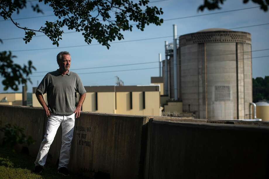 Bert Bowers, shown at a nuclear power plant in South Carolina, is a whistle-blower in the cleanup of the former San Francisco Naval Shipyard at Hunters Point. Photo: Charles Mostoller / Special To The Chronicle