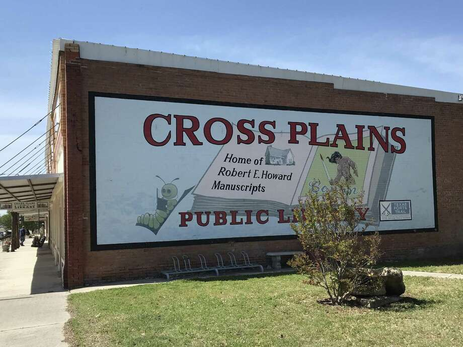It took a while, but Cross Plains residents finally came to terms with the famous writer who lived among them long ago. Photo: Joe Holley/Houston Chronicle / Joe Holley