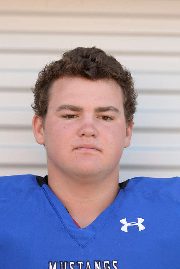 Midland Christian offensive lineman Ben Thompson. James Durbin, Reporter-Telegram