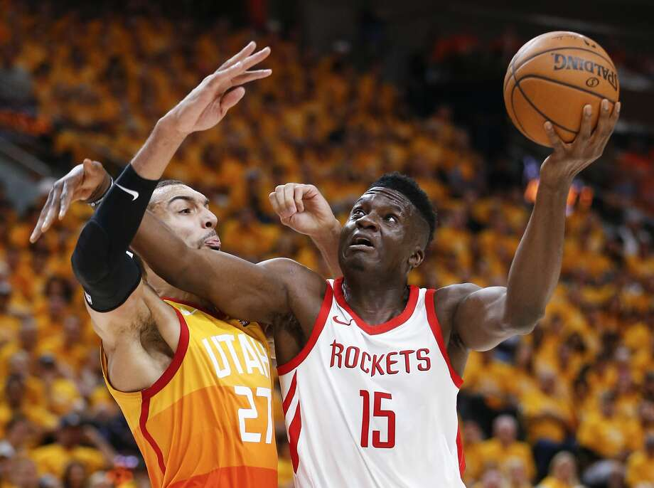 Clint Capela's development has been a key factor for Rockets this season. Photo: Michael Ciaglo/Houston Chronicle