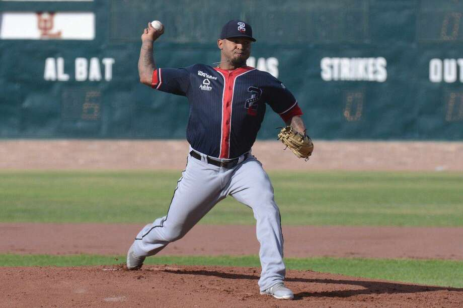 Tecolotes Dos Laredos pitcher Nestor Molina stifled first-place Sultanes de Monterrey holding them to two runs over six innings in a 7-5 victory in Nuevo Laredo Friday night. Photo: Courtesy Of The Tecolotes Dos Laredos, File
