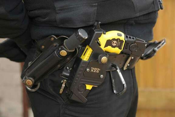 The San Francisco Police Officer's Association is pushing a controversial measure on the June ballot that would loosen the department's policy on Taser stun guns when officers get the weapons starting this year.