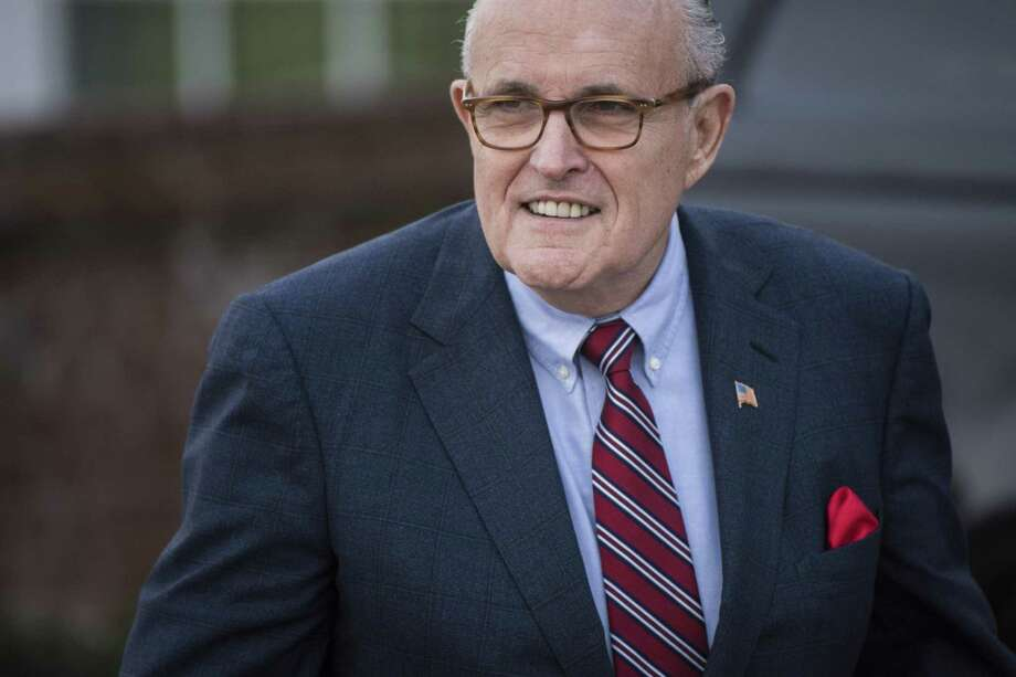 Rudy Giuliani arrives for a meeting at the clubhouse at Trump National Golf Club Bedminster in Bedminster Township, N.J. on Nov. 20, 2016. Photo: Jabin Botsford, The Washington Post / The Washington Post / The Washington Post