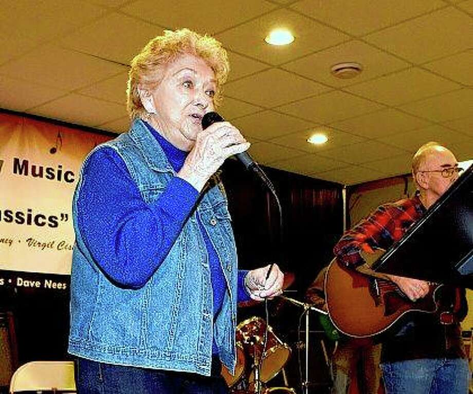 Regular guest singer Millie Stewart appears at the monthly Greenup Hootenanny with the Original Country Classics Band. During her life-long singing career, Lee appeared on stage with Buck Owens and the Buckaroos, Merle Haggard and Tex Ritter to name a few. Photo:       Charles Mills | Effingham Daily News (AP)