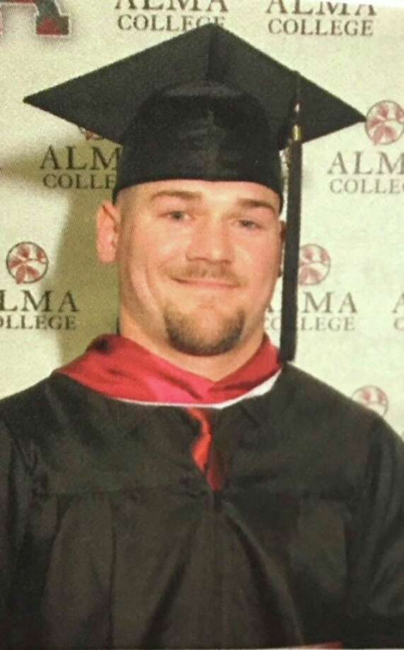 Brandon Moore, of Port Austin, graduated Cum Laude from Alma College on April 21, 2018, with a bachelor of arts in business management. Moore is the son of Tom and Elaine Moore of Port Austin. He is the grandson of Eleanor Miller, of Port Austin and John and Marge Moore, of Kinde. (Submitted Photo)