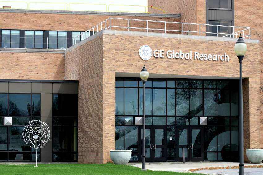 Exterior of GE Global Research Center on Friday, May 4, 2018, in Niskayuna, N.Y. (Will Waldron/Times Union)