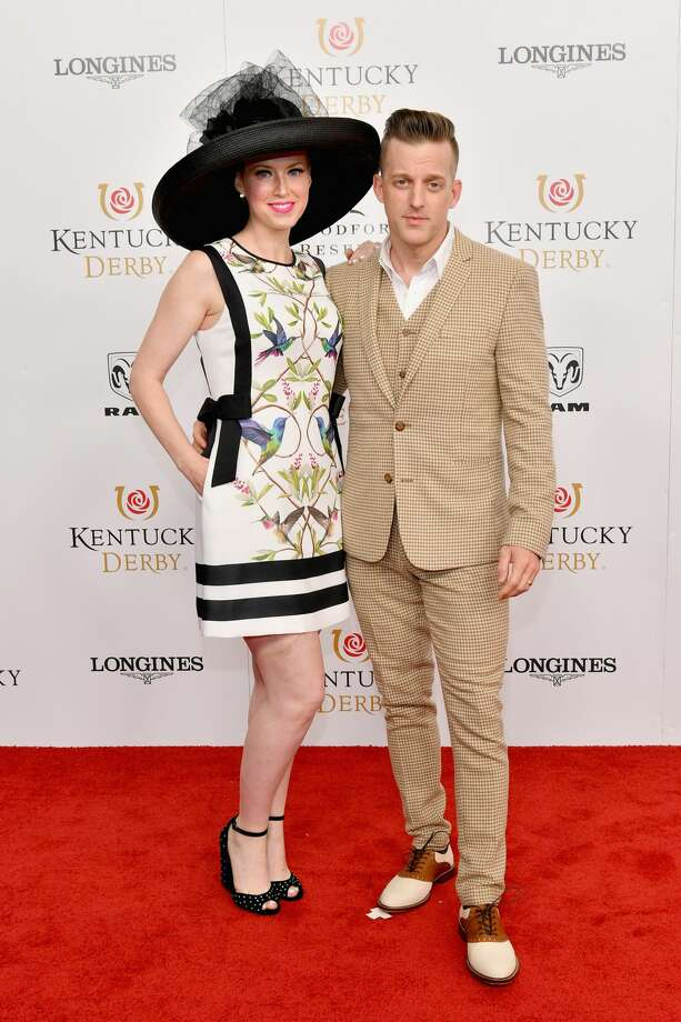 Shawna Thompson and Keifer Thompson of Thompson Square attend Kentucky Derby 144 on May 5, 2018 in Louisville, Kentucky. Photo: Dia Dipasupil/Getty Images For Chruchill Downs