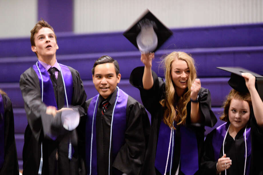 Midland Classical Academy graduation ceremony May 5, 2018. James Durbin/Reporter-Telegram Photo: James Durbin