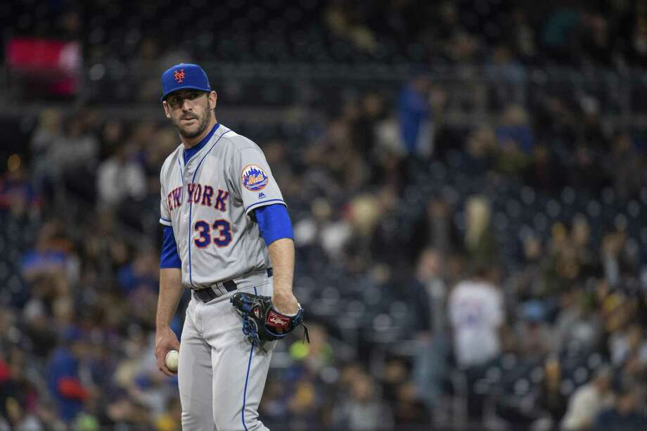 The New York Mets designated former ace Matt Harvey for assignment on Saturday. Photo: Kyusung Gong / Associated Press / AP
