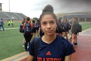 Brandeis freshman soccer player Isabella Benavidez