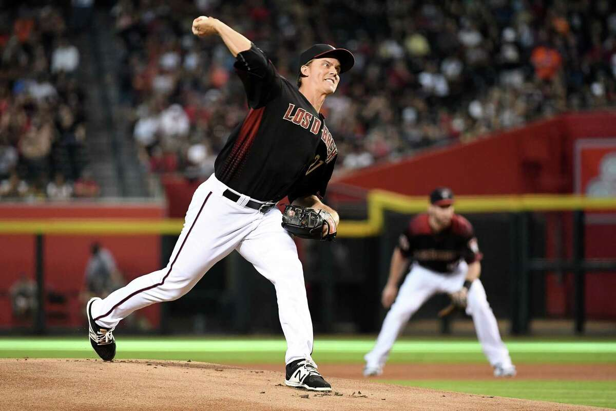 When will he make his Astros debut? The Astros announced Greinke will make his first start for his new team on Tuesday night against the Rockies at Minute Maid Park.Greinke last pitched Wednesday afternoon for the Diamondbacks,throwing five innings and 82 pitches just hours before the trade.