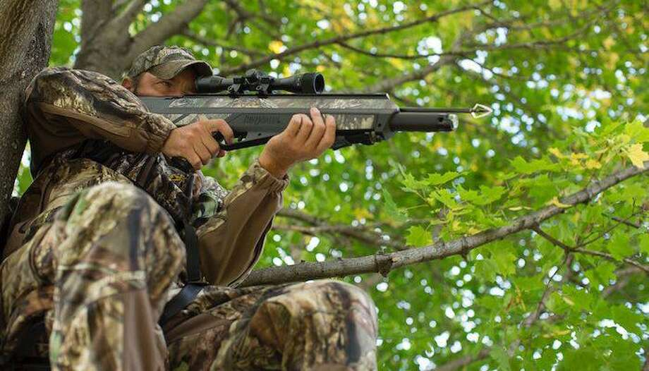 "Citing questions about the lethality of rifles and bows that use compressed gas to propel a bullet or arrow, the Texas Parks and Wildlife Commission announced that it will reconsider its earlier unanimous approval of ""air rifles"" and ""air bows"" as a legal means for taking deer and certain other game. Photo: Photo Courtesy Of Crosman / Photo Courtesy Of Crosman"