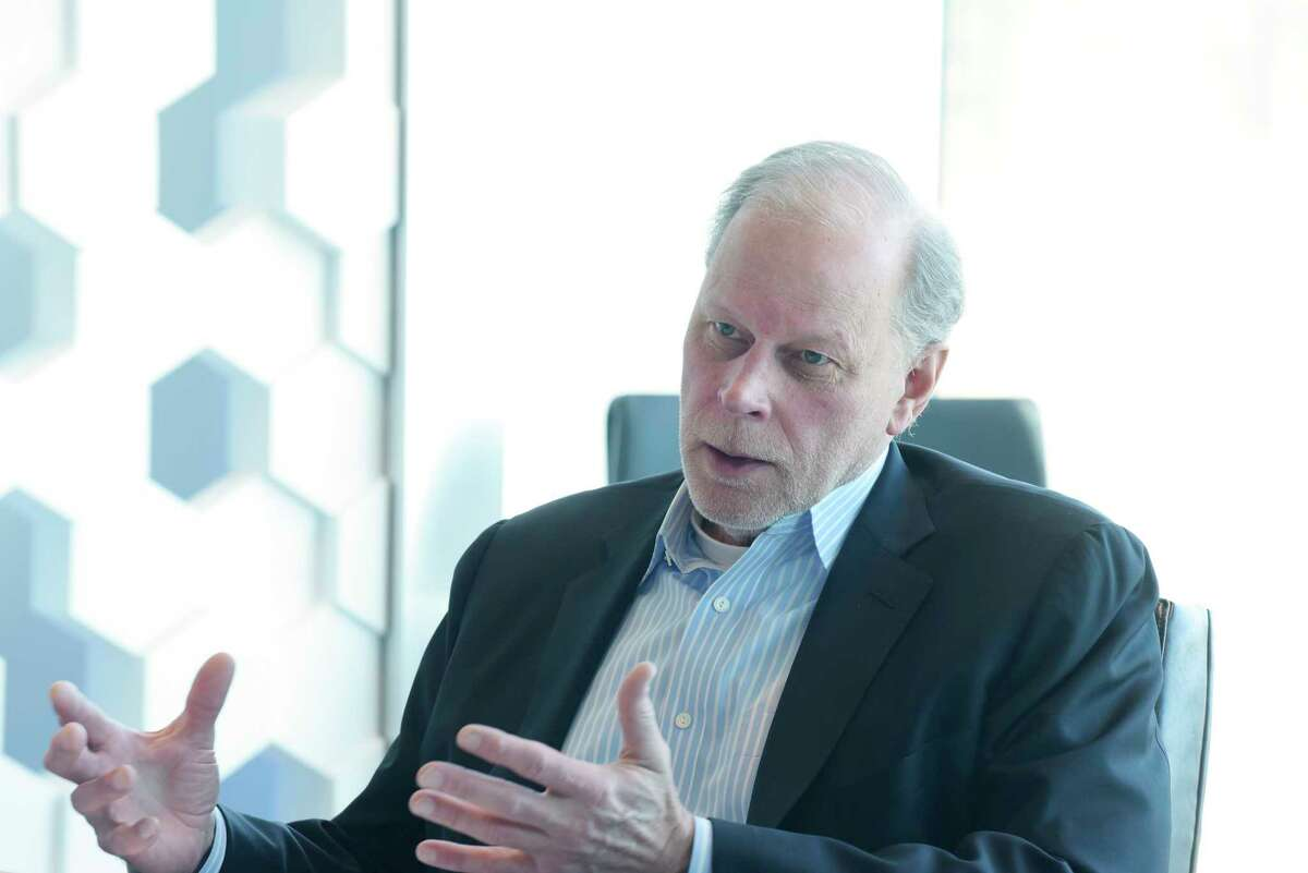 Doug Grose CEO of NY CREATES, talks about research programs during an interview at the Albany Nanotech complex on Tuesday, May 1, 2018, in Albany, N.Y. (Paul Buckowski/Times Union)