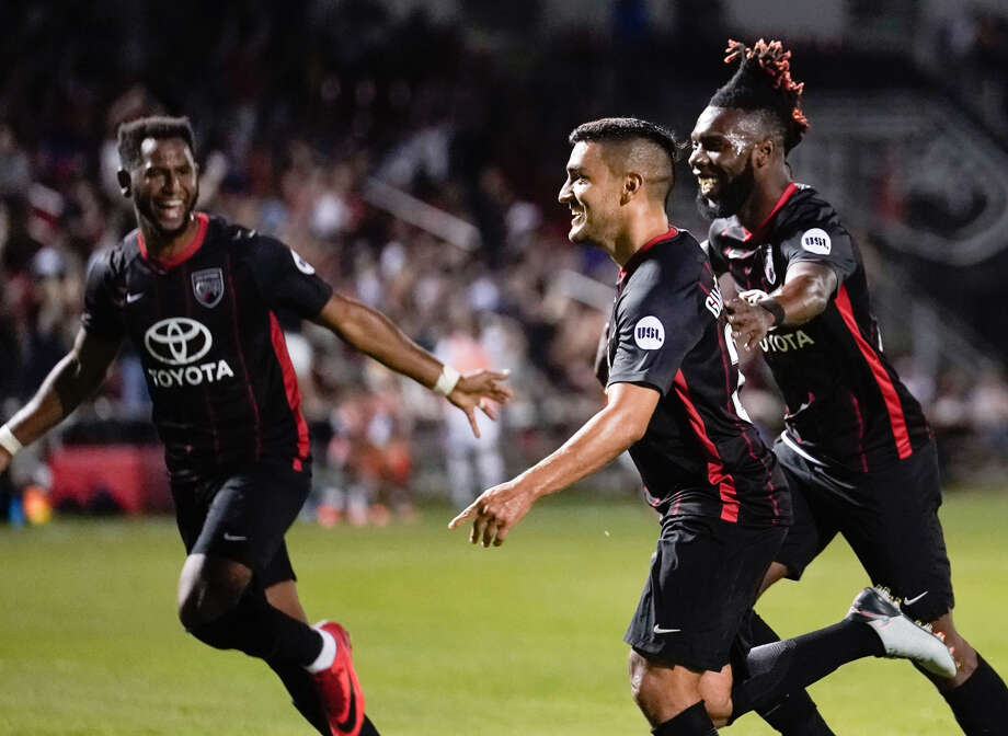 Bruce's 20th minute goal did not just mark his first with SAFC. It also proved to be the difference in SAFC's 2-1 victory over Fresno FC Saturday night at Toyota Field.