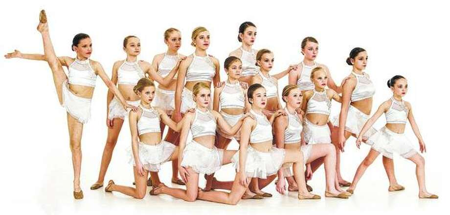 "Dancers featured in the Sara's Studio of Dance routine ""Hallelujah"" include Elizabeth Stremming, Samantha Lawson, Jacee Weiss, Lily Rohlk, Kate Alexander, Bella Evans, Lily Hickox, Emma Wolters, Rilie Tobin, Kennedi Slocum, Alli Kafer, Lindsey Haulata, Reese Brooks, Meredith Gallo and Jaycee Bates. The studio is having its spring recital and showcases this week. Photo:       Photo Provided"