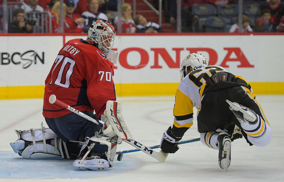 The Goalie Is Everything For Us The Capitals Game 5 Triumph Started And Ended With Braden Holtby Houston Chronicle
