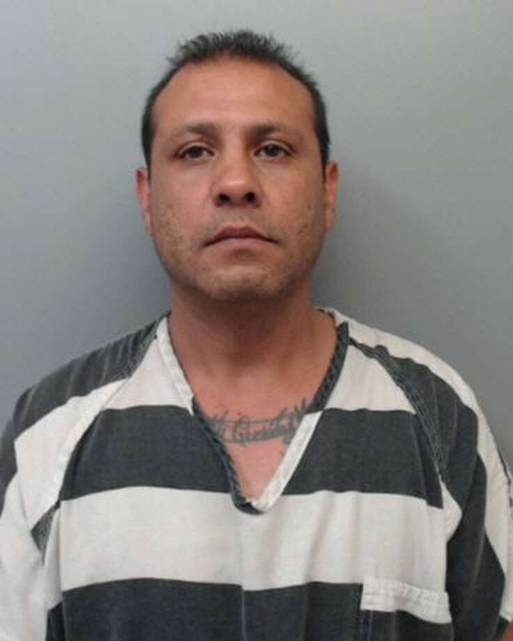 Joseph Segovia, 39, was charged with assault, family violence. Photo: Webb County Sheriff's Office