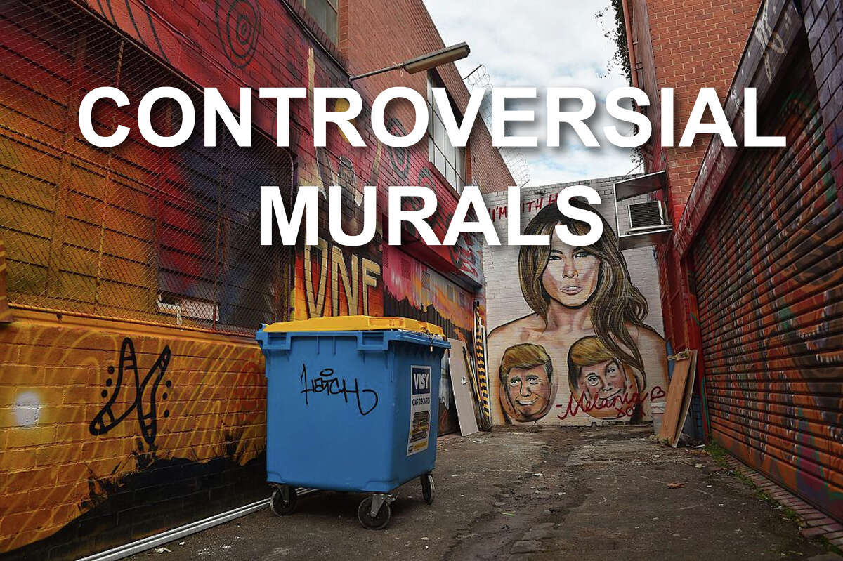 The Donald Trump presidency has been marked by reactionary murals that have caused controversy around the world. Click through to see some of the most controversial.