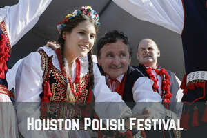 Dancers perform during the Houston Polish Festival at Our Lady of Czestochowa Parish in Houston, TX on Saturday, May 5, 2018.