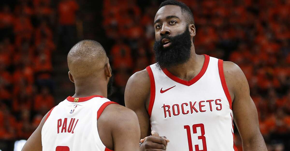 """""""There's a mutual respect. (James Harden and Chris Paul) both have the same goals,"""" Mike D'Antoni said before Game 4 against the Utah Jazz."""