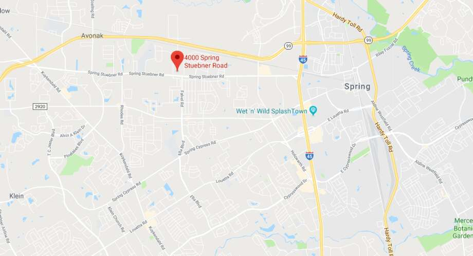 One motorcyclist was killed in a crash in the 4000 block of Spring Steubner on Saturday, May 5, 2018. Photo: Google Maps