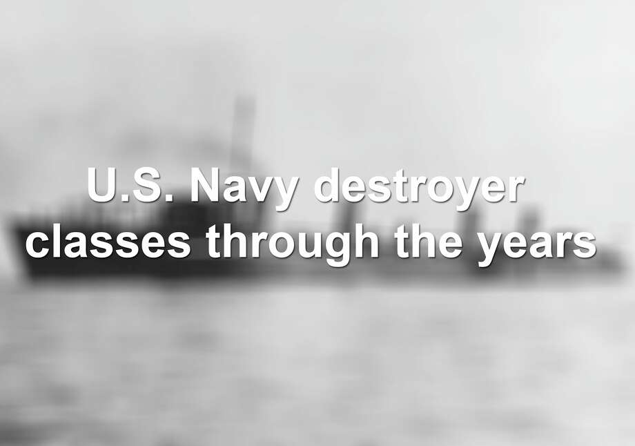 Scroll through to see the U.S. Navy destroyer classes over the years. Photo: Compiled By John-Henry Perera