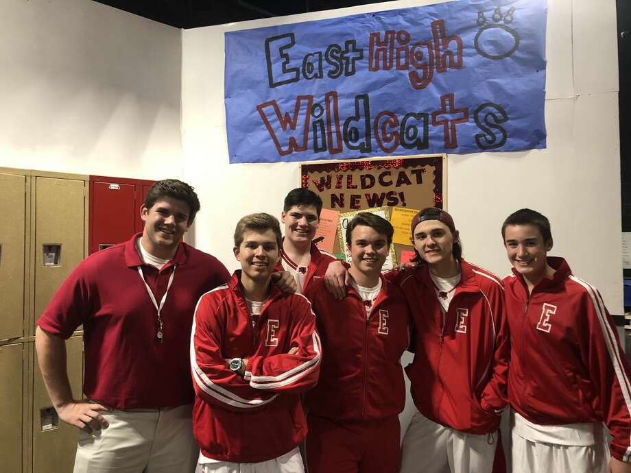 MCS musical: Luke Fisher, from left, Christopher Cochran, Will Bundy, Zane Richardson, Logan Whiteman and Logan Cook Photo: Courtesy Photo
