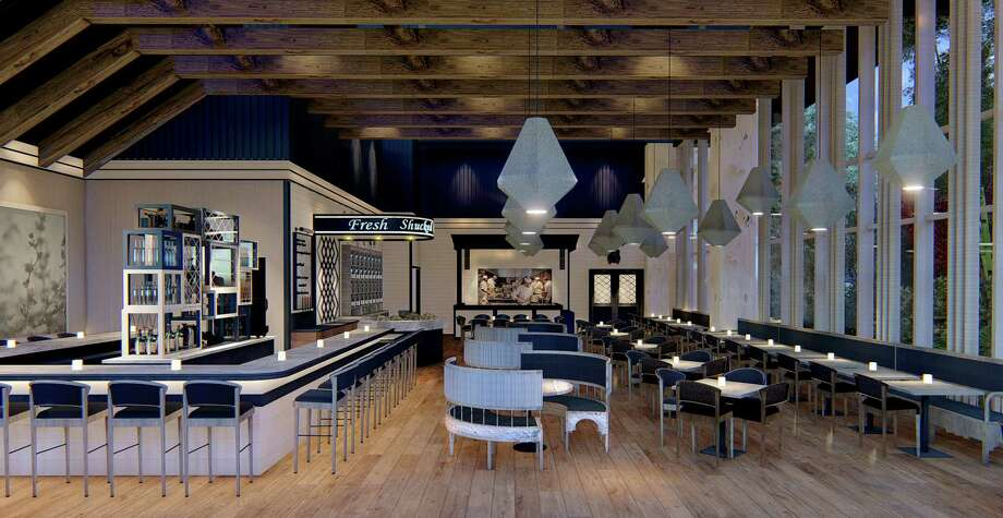 Rendering of the new Eunice restaurant from BRG Hospitality set to open summer 2018. Photo: Gin Design