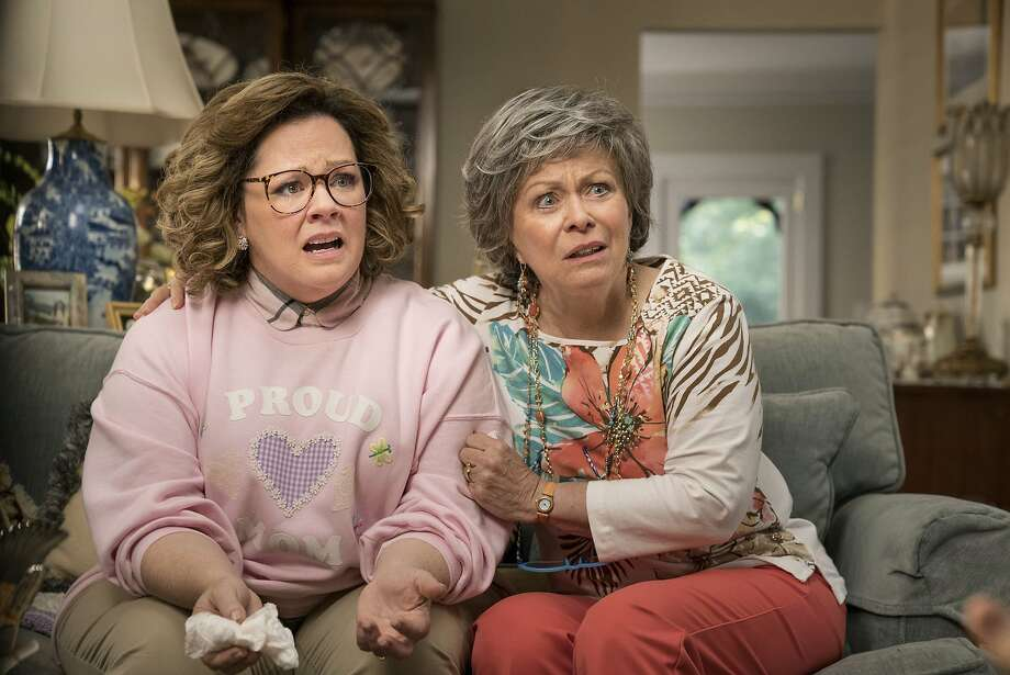 "Melissa McCarthy (left) in ""Life of the Party,"" with Jacki Weaver as her mom. Photo: Hopper Stone / Warner Bros. Pictures"