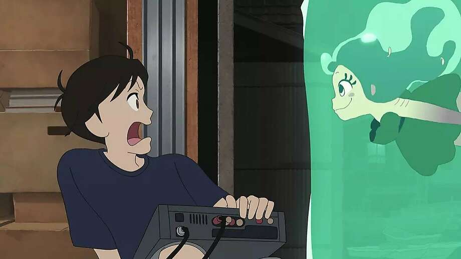 "Masaaki Yuasa's ""Lu Over the Wall"" is about Kai, a gloomy middle school student whose life changes after meeting Lu, a mermaid. Photo: GKids"