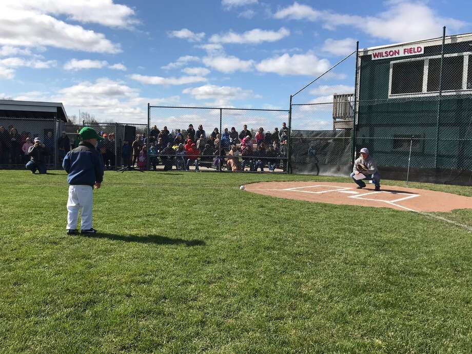 Midland's Northeast Little League held its opening ceremonies on Saturday, April 28. Photo: Photos Provided By Nick Kroll