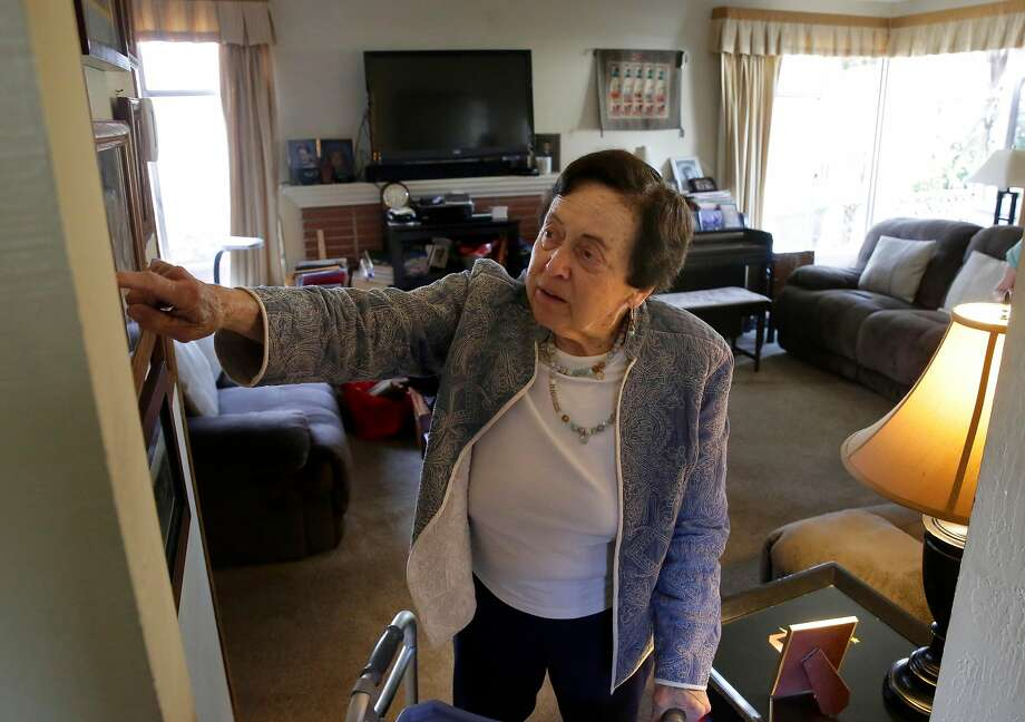 Janet Abelson at her home in El Cerrito, Calif. on Mon. April 23, 2018. Abelson has been renting a room to Blanca Ornelas in her home since April 1st. Photo: Michael Macor / The Chronicle