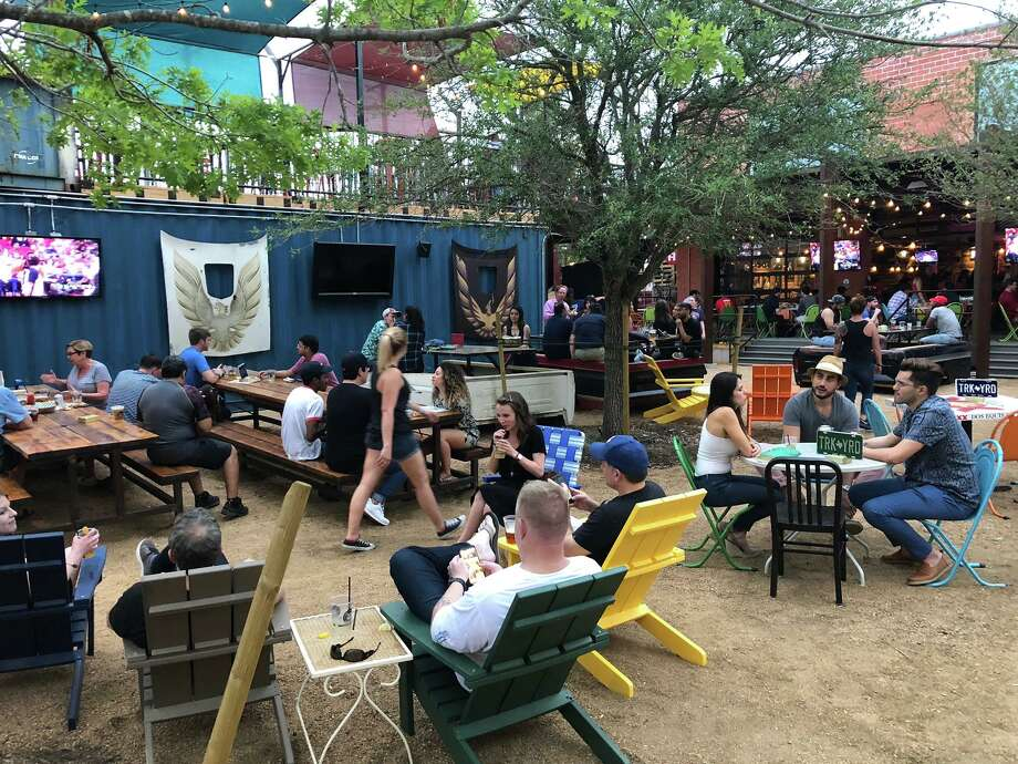 "Truck Yard opened May 2 on Lamar Street and calls itself a ""come-as-you-are beer garden and adult playground."" Photo: Truck Yard"