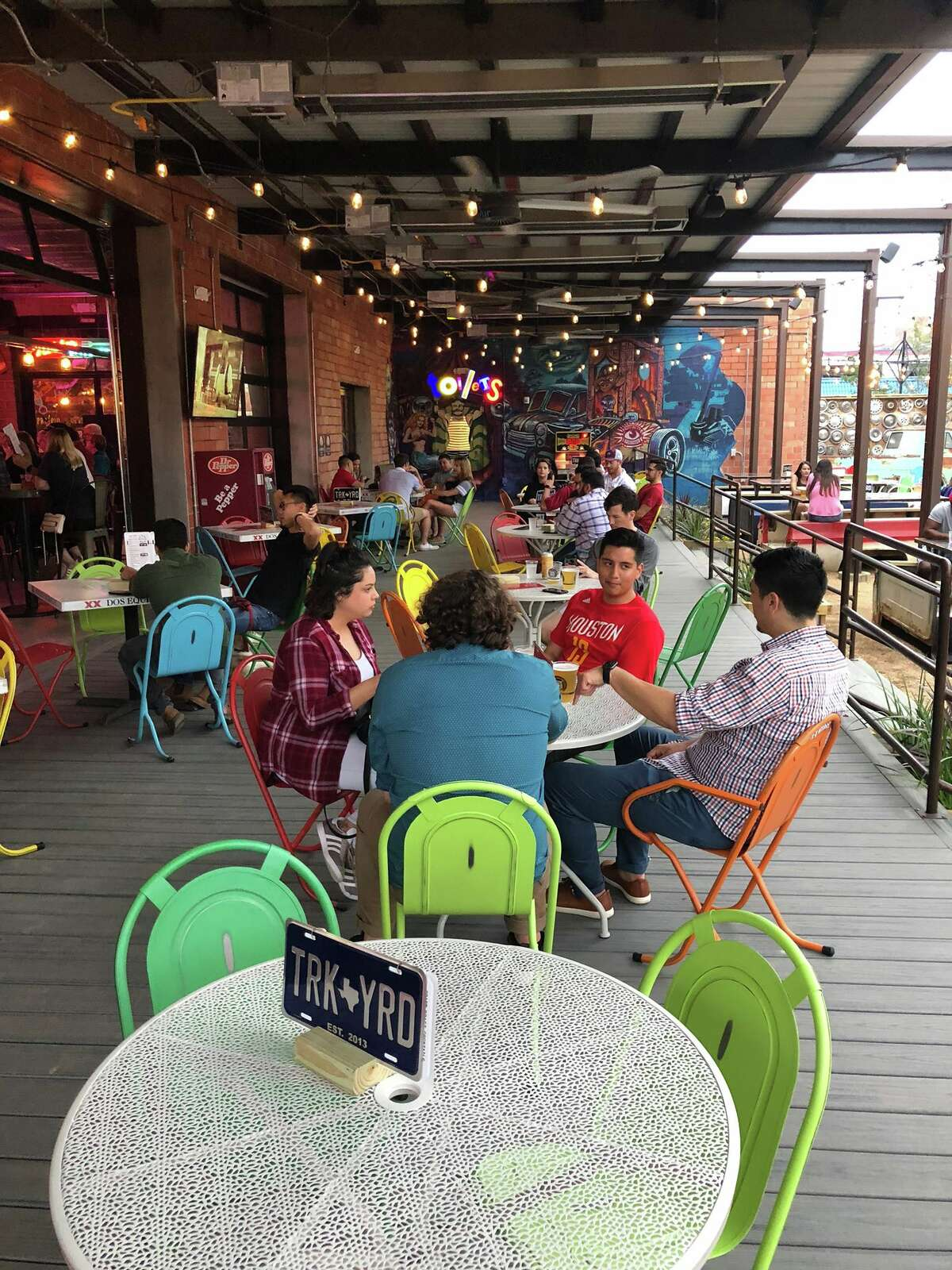 Truck Yard opened May 2 on Lamar Street and calls itself a