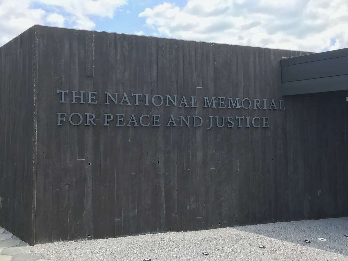 Photographer: Ian MagruderDate: April 27, 2018Place: National Memorial for Peace and Justice, the nation's first memorial dedicated to the legacy of enslaved black peopleMontgomery, AlabamaThe memorial structure on the center of the site is constructed of over 800 corten steel monuments, one for each county in the United States where a racial terror lynching took place. The names of the lynching victims are engraved in the columns, along with the date of the lynching.
