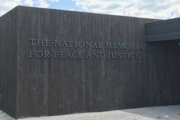 Photographer: Ian MagruderDate: April 27, 2018Place: National Memorial for Peace and Justice, the nation�s first memorial dedicated to the legacy of enslaved black peopleMontgomery, AlabamaThe memorial structure on the center of the site is constructed of over 800 corten steel monuments, one for each county in the United States where a racial terror lynching took place. The names of the lynching victims are engraved in the columns, along with the date of the lynching.