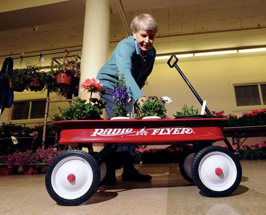 The Garden Club of Old Greenwich will hold its annual plant sale May 12 at the Eastern Greenwich Civic Center on Harding Road. Members will be selling their own perennials as well as annuals, herbs and vegetables. Photo: File / Bob Luckey / Bob Luckey / Greenwich Time