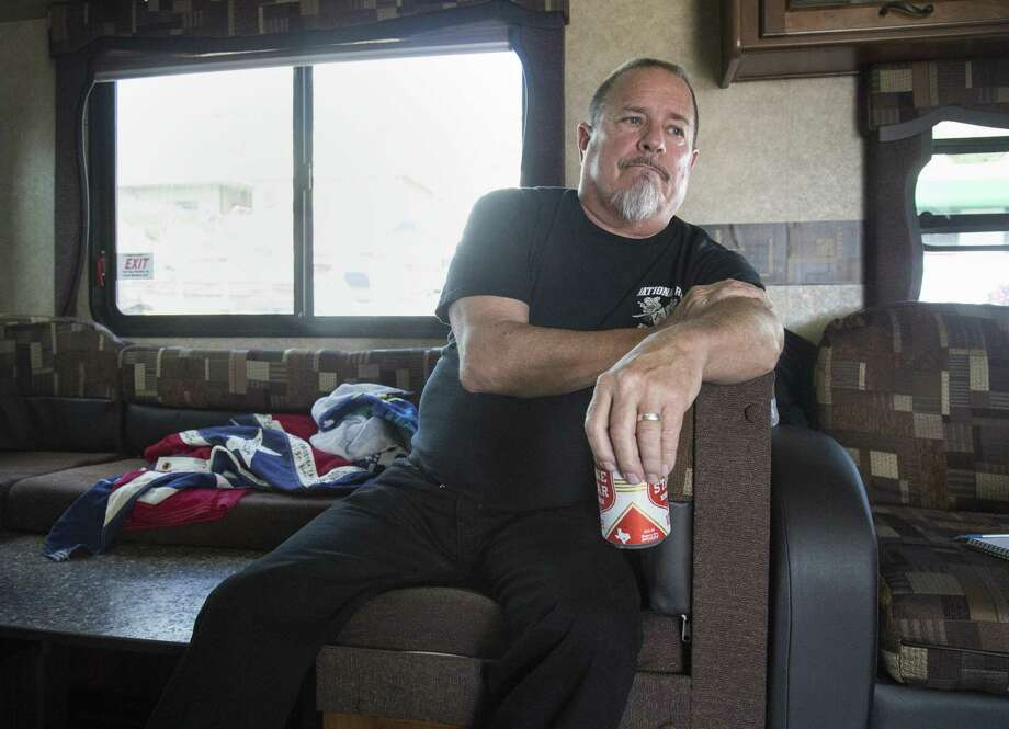The defense for former Bandidos Motorcycle Club president Jeffrey Fay Pike, seen in 2016, wrapped up presenting their client's case Monday afternoon. Photo: File Photo /Houston Chronicle / © 2015  Houston Chronicle