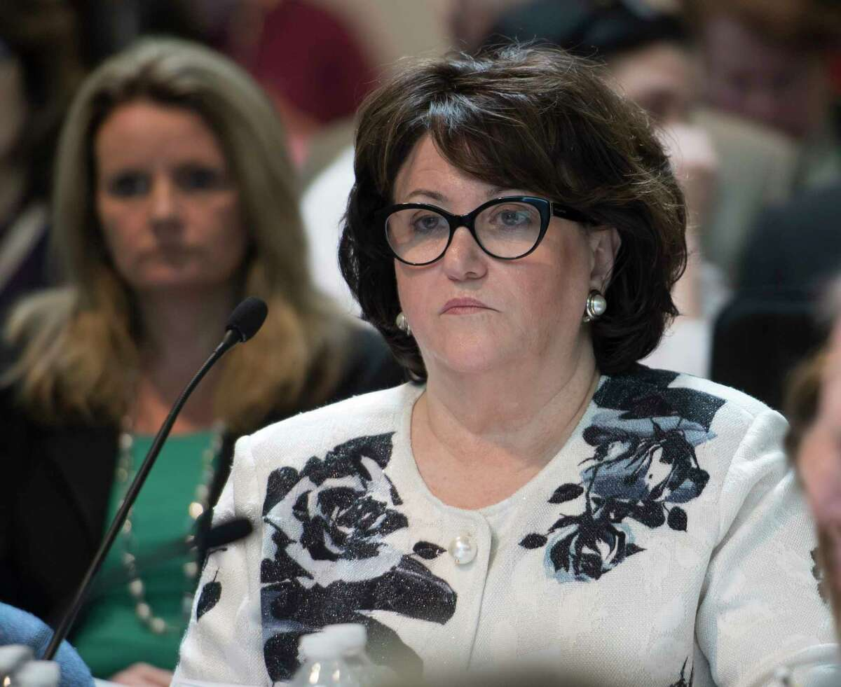 Education Commissioner MaryEllen Elia in attendance at the Board or Regents monthly meeting at the Education Building Monday May 7, 2018 in Albany, N.Y. (Skip Dickstein/Times Union)