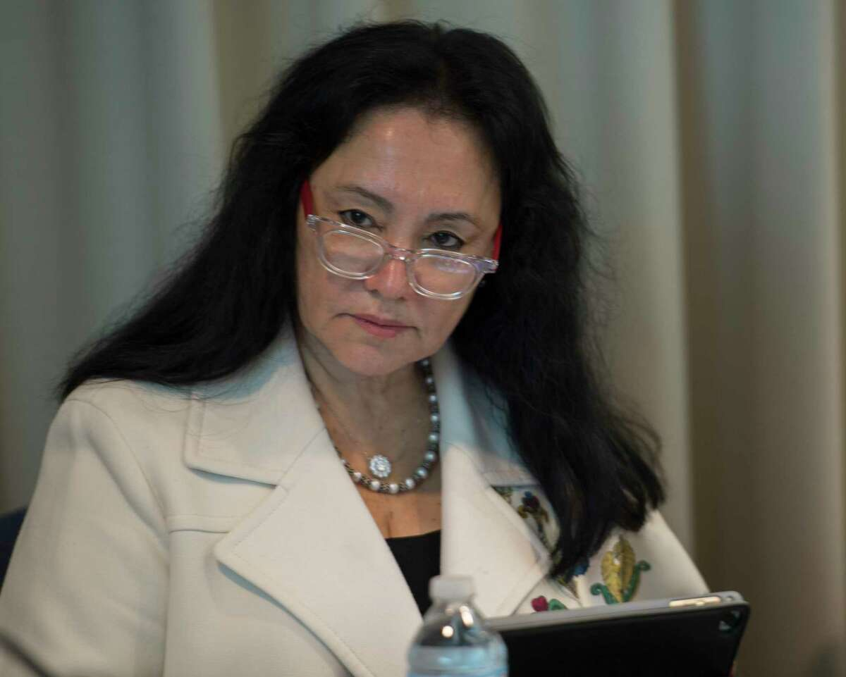 Board of Regents Chancellor Betty A. Rosa in attendance at the Board or Regents monthly meeting at the Education Building Monday May 7, 2018 in Albany, N.Y. (Skip Dickstein/Times Union)