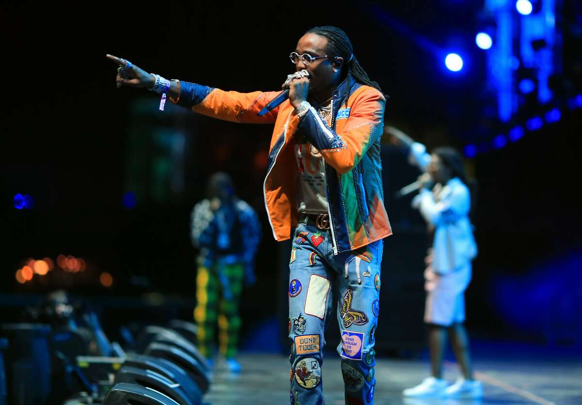 INDIO, CA - APRIL 22: Quavo of Migos performs onstage during the 2018 Coachella Valley Music And Arts Festival at the Empire Polo Field on April 22, 2018 in Indio, California. (Photo by Christopher Polk/Getty Images for Coachella)
