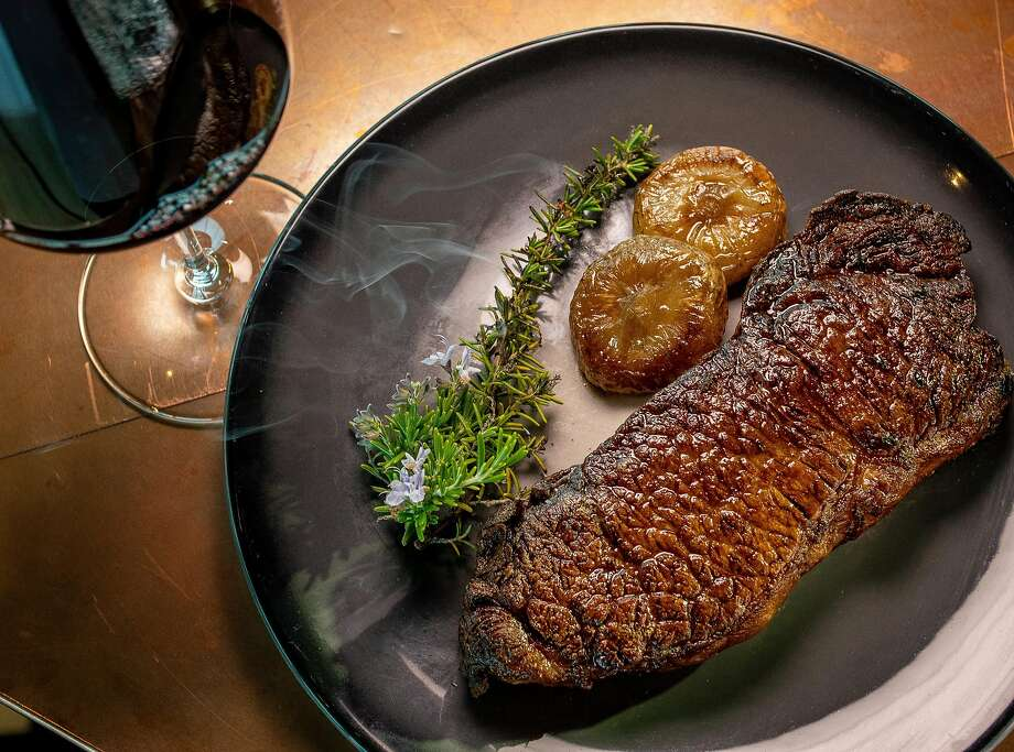 New York Strip Steak at NapaSport in Napa. Photo: John Storey / Special To The Chronicle