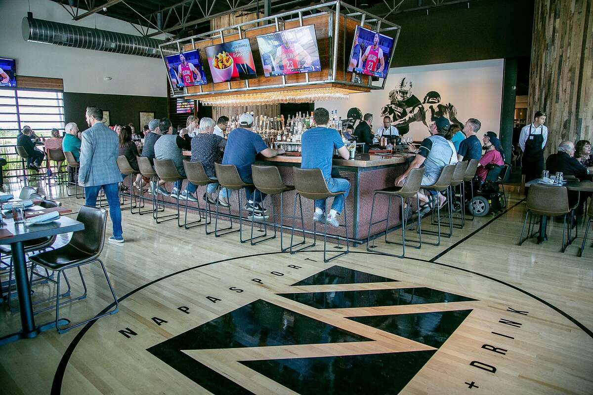 The interior of NapaSport in Napa, Calif. is seen on May 6th, 2018.