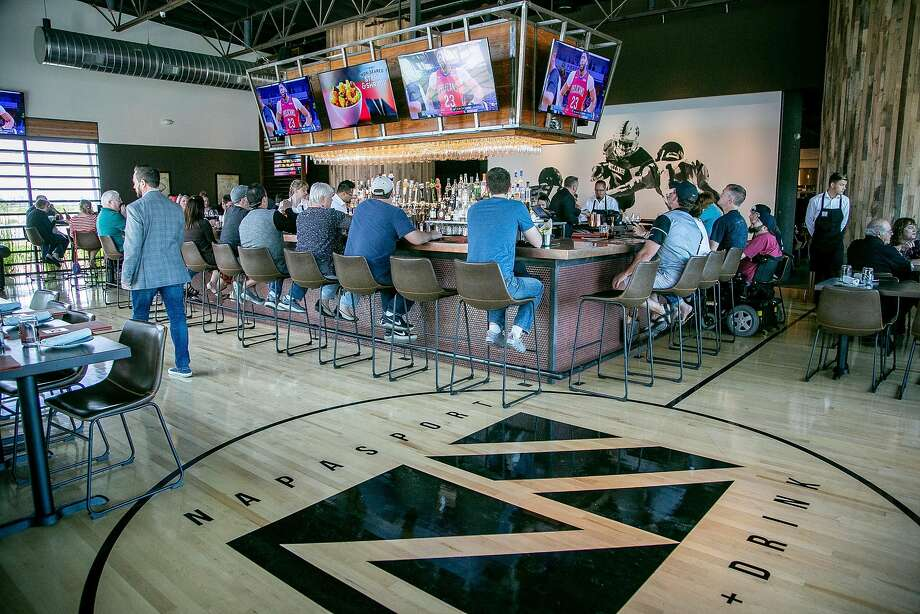 The isports lounge at NapaSport. Photo: John Storey / Special To The Chronicle